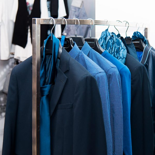 bianco negozio di abbigliamento uomo donna - city corner 2
