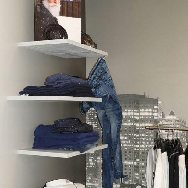 bianco negozio di abbigliamento uomo donna - city corner 3