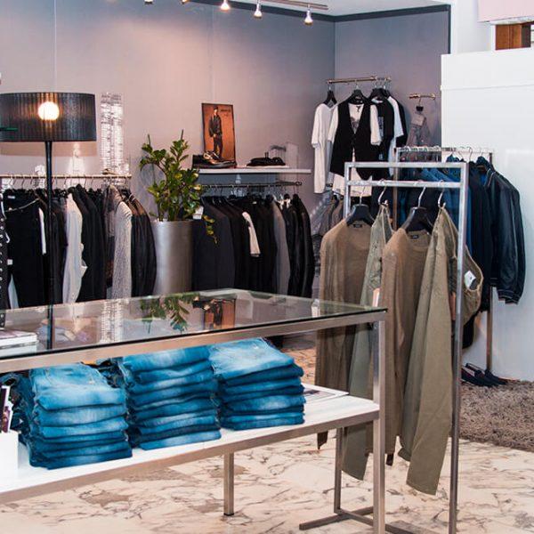 bianco negozio di abbigliamento uomo donna thiene